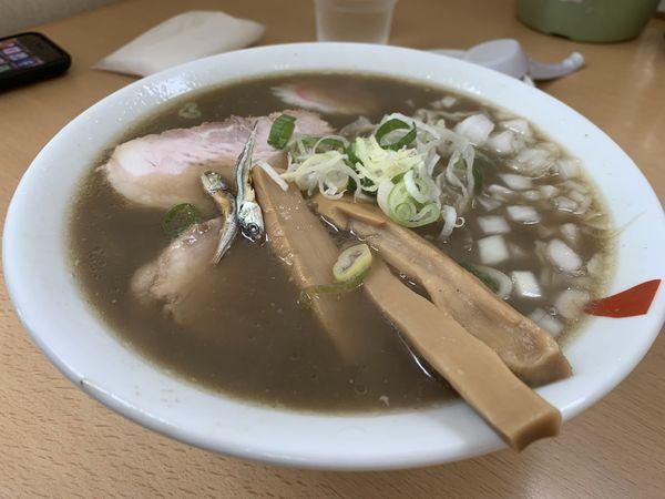 「煮干しラーメン(濃いめ)」@麺処にっ田屋の写真
