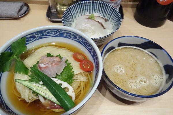 「【限定】金目鯛つけ麺」@寿製麺 よしかわ 西台駅前店の写真