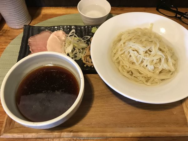 「鶏精湯の昆布水つけ麺」@中華蕎麦 はざまの写真