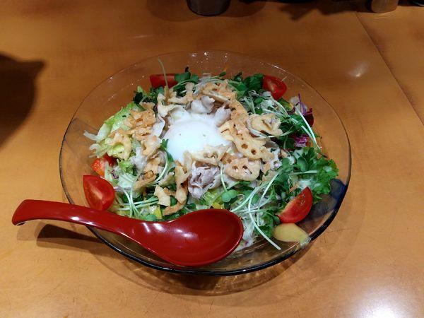 「サラダ冷やし中華」@麺屋 翔 品川店の写真