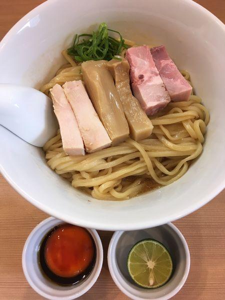 「まぜそば 〜三段仕込み〜」@らぁ麺 はやし田 横浜店の写真