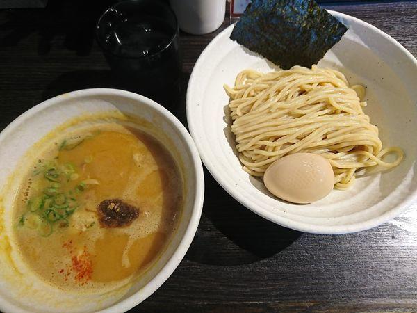 「つけそば+味玉(880円)」@鶏そば 雫一 大袋店の写真