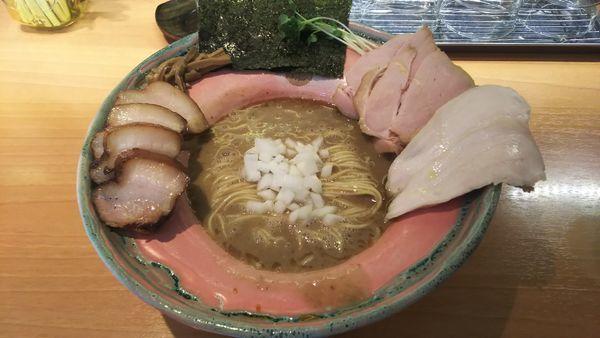 「ニボリッチ+チャーシュー 1080円」@拉麺 成の写真