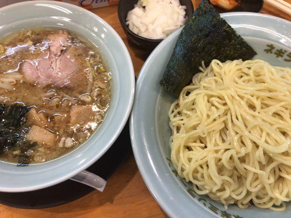 「つけ麺740円酸味抜き+玉ねぎ50円。」@ラーメンショップ椿 二本松店の写真