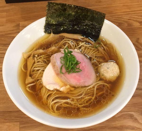 「地鶏(醤油)750円」@自家製麺 純の写真