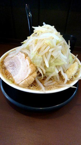 「煮干しラーメン740円ランチ大盛無料」@麺屋㐂龍の写真