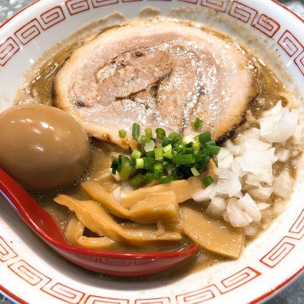 「煮干しそば ¥780 +味玉 ランチ無料サービス」@らーめんキッチン かえでの写真