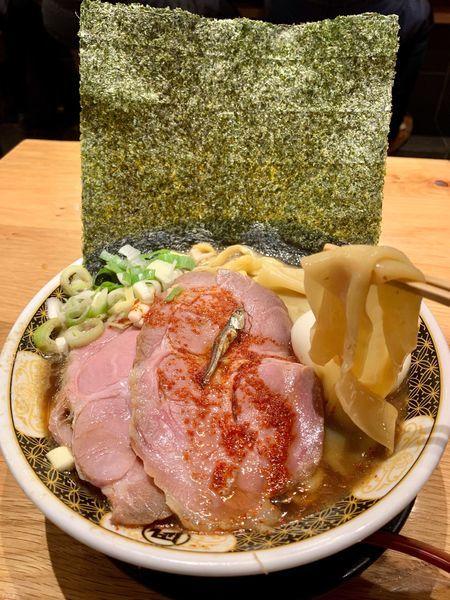 「特製すごい煮干しラーメン」@ラーメン凪 川口東口駅前店の写真