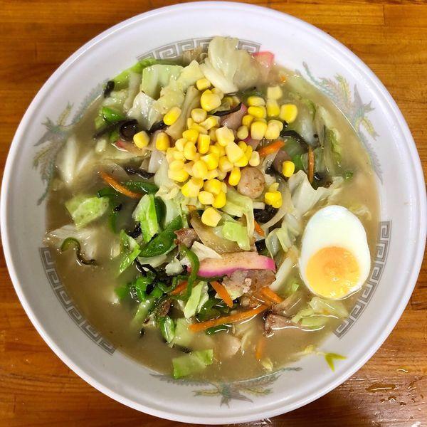 「野菜ラーメン (750円)」@マルチョンラーメンの写真