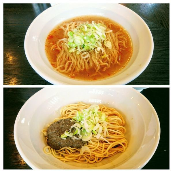 「【限定】冷やし銀鱗金目鯛蕎麦+なみおか極ニボ玉」@弘明寺丿貫の写真