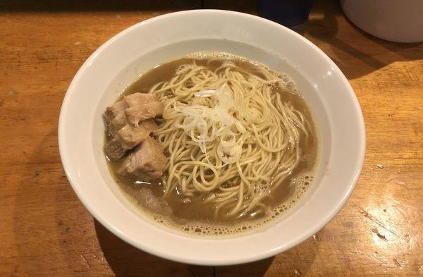 「肉そば 中盛」@自家製麺 伊藤の写真