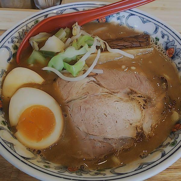 「【workshopコラボ限定】スモーキー豚骨パイタン麺」@くじら食堂 nonowa東小金井店の写真