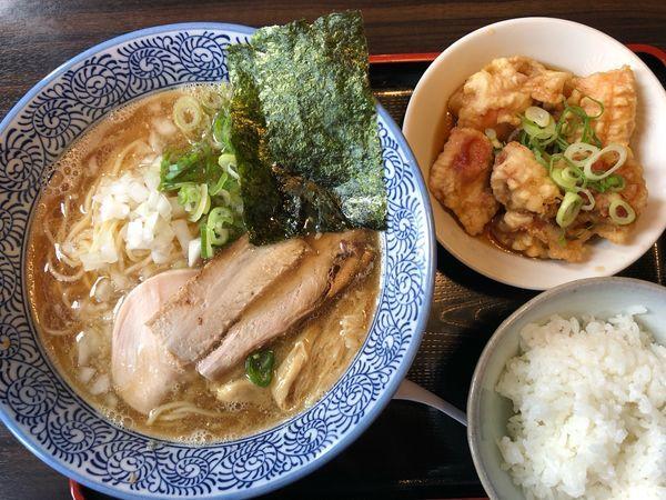 「Cランチ定食 980円」@極上煮干し鶏そば やまだ邸の写真