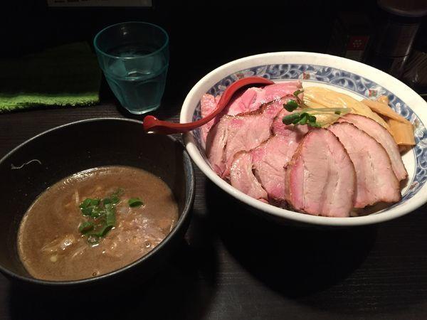 「チャーシューつけ麺 大盛」@麺処 夏海の写真