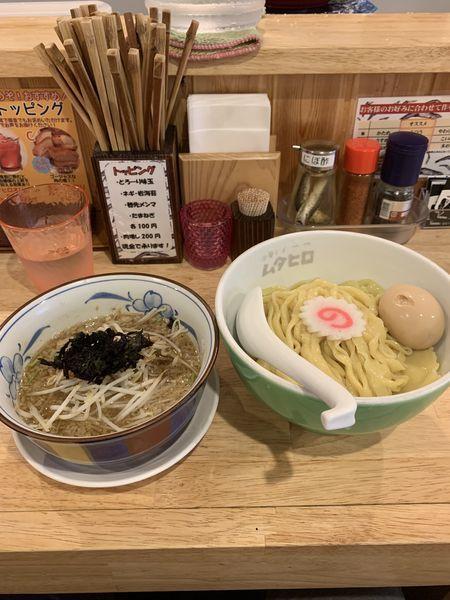 「アハハ煮干し味玉つけ麺:900円」@中華そば ムタヒロの写真