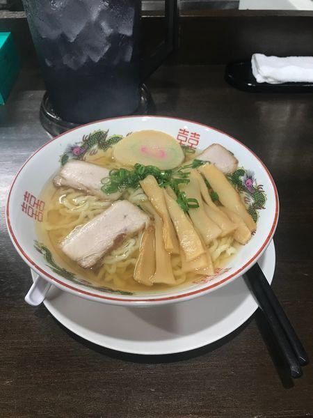 「中華そば(しょう油)」@自家製麺中華そば 番家の写真