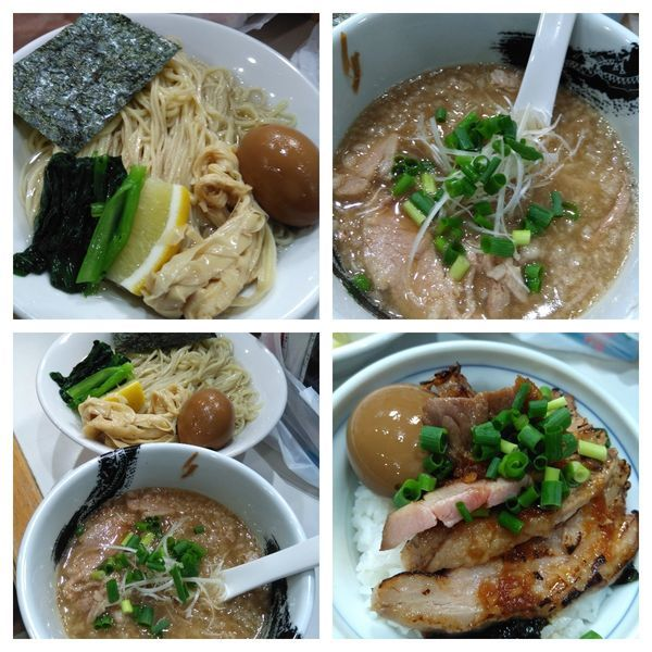 「【限定】淡麗醤油つけそば大盛り+ライス」@麺屋 扇 SENの写真