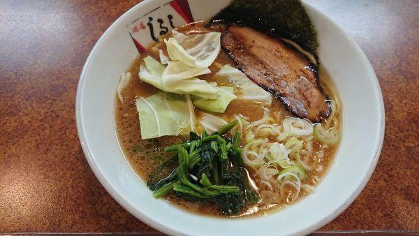 「醤油豚骨ラーメン 750円」@麵屋 しるしの写真