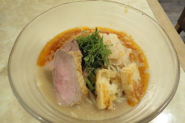 「【限定】夏野菜の冷や汁SOBA」@鶏ポタラーメン THANK 大門店の写真