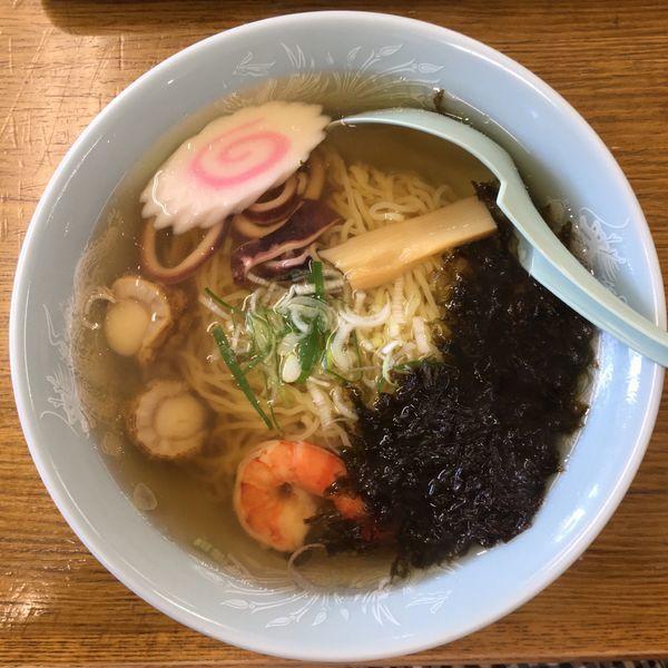 「浜磯ラーメン ¥850」@いさりびハウス食堂の写真