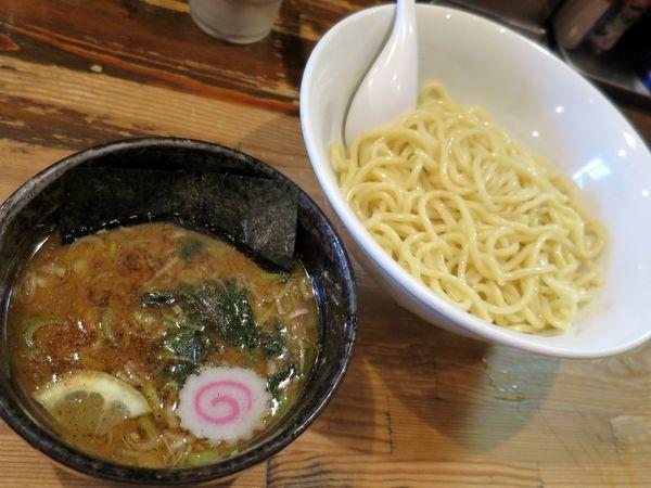 「つけめん 780円」@麺座でんの写真
