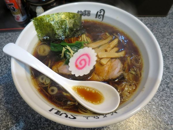 「生姜醤油らーめん 750円」@Noodle Studio SYU 周の写真