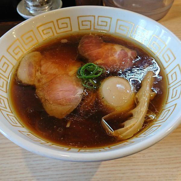 「味玉醤油らぁ麺」@中村麺三郎商店の写真