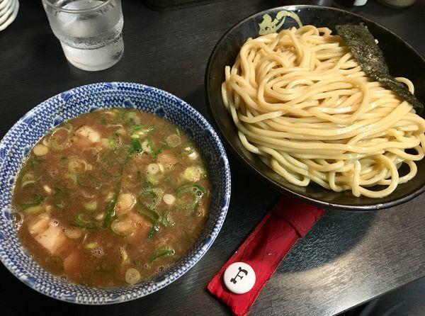 「Wスープつけ麺」@無鉄砲 つけ麺 無極の写真