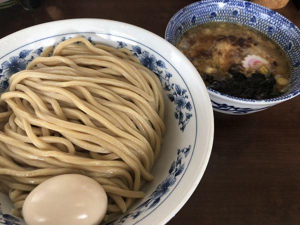 「味玉つけ麺(大盛)」@次念序の写真