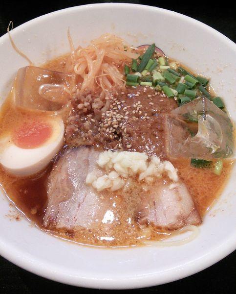 「【期間限定】冷やし大担麺 980円」@らぁめん大山 アトレ川崎店の写真