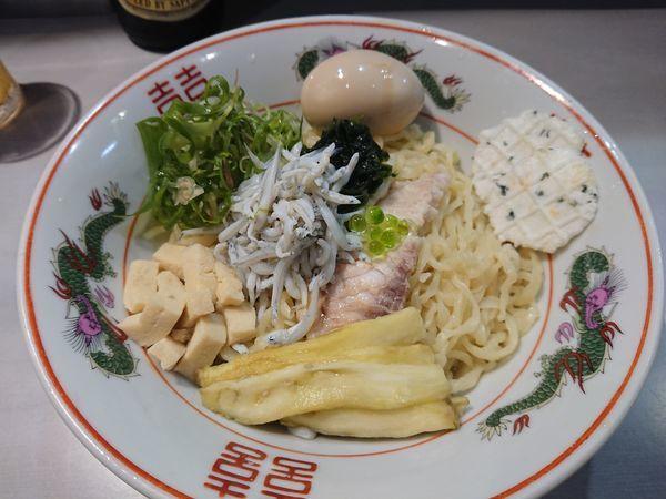 「【限定】しらすと生海苔の鯛の香りのあえそば900円 他」@中華蕎麦 瑞山(ZUIZAN)の写真