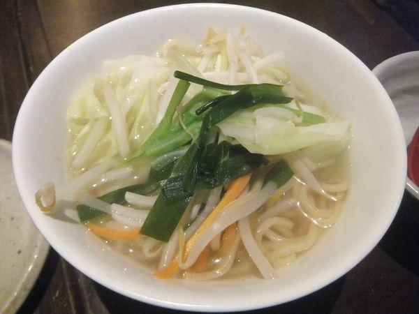 「野菜タンメン302円(税込み)」@豊後高田どり酒場 柏西口駅前店の写真