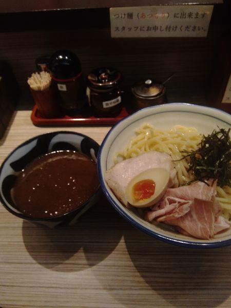 「濃厚魚介豚骨つけ麺 中盛り」@麺屋 宮本の写真