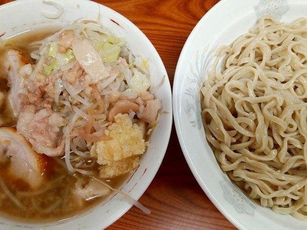 「つけ麺(ヤサイニンニクアブラ)」@ラーメン二郎 亀戸店の写真