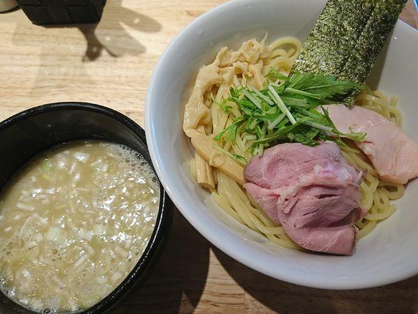 「鶏白湯つけ麺(塩)850円」@麺屋 れんしんの写真