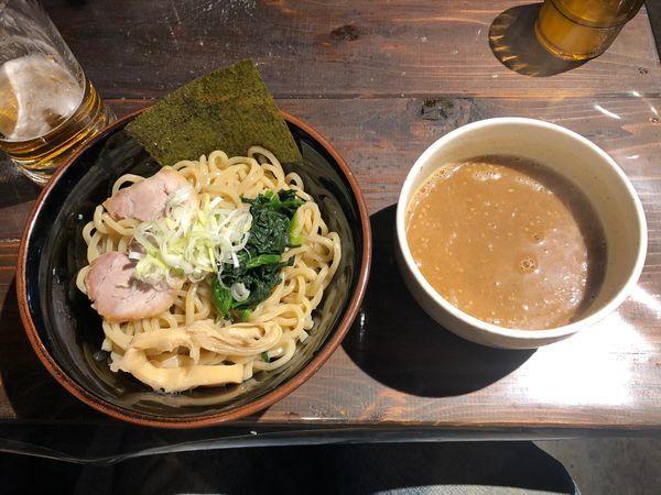 「味噌つけ麺  小盛」@麺屋 武龍の写真