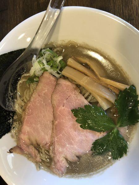 「煮干しらぁ麺 春よ恋麺140g 650円」@Soupmenの写真