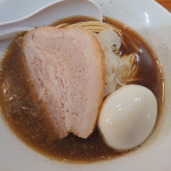 「味玉入り850円、和え玉200円」@煮干中華ソバ イチカワの写真