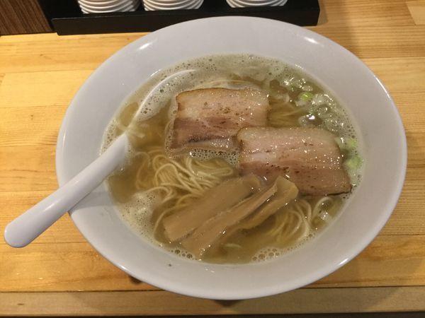 「煮干ラーメン(¥680)」@煮干しラーメン 虎徹の写真
