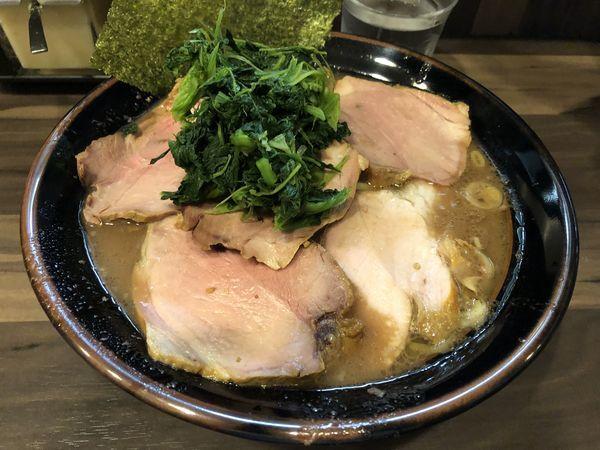 「チャーシュー麺大盛」@神田ラーメン わいずの写真
