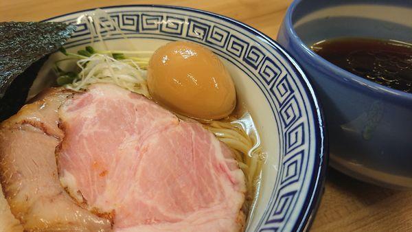 「昆布水つけ麺 特製 醤油」@麺処 有彩の写真