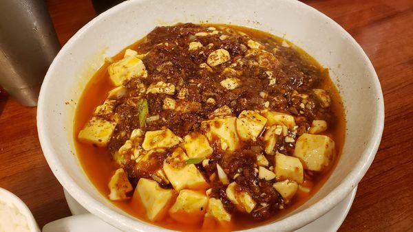「麻婆麺(倍辛) 1000円」@SHIBIRE NOODLES 蝋燭屋の写真