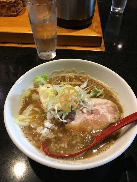「醤油ラーメン」@麺処 蓮海 平岸店の写真