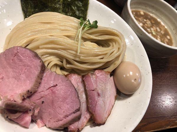 「特製濃厚魚介豚骨つけ麺 大盛」@麺処 はら田の写真