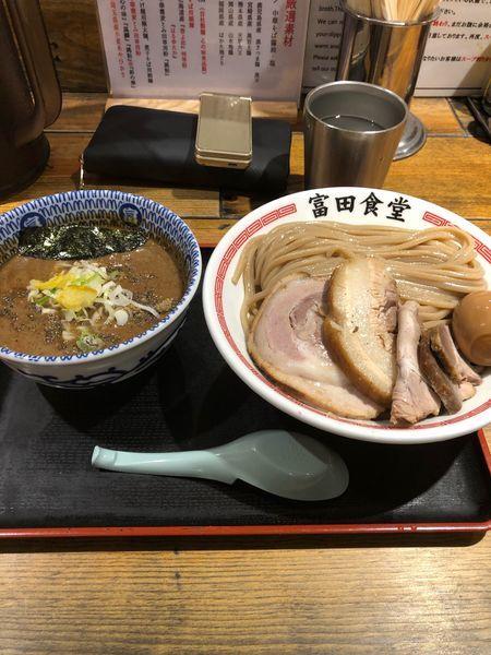 「特盛 特製つけ麺」@松戸中華そば 富田食堂の写真