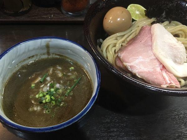 「濃密な煮干しつけ麺」@中華そば いづるの写真