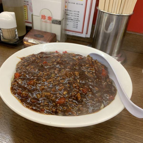 「ジャージャー麺大盛」@珍来 柏藤ヶ谷店の写真