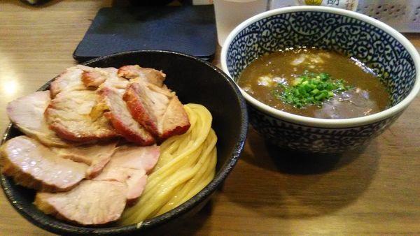 「チャーシュー極濃煮干つけ麺」@煮干しつけ麺 宮元の写真