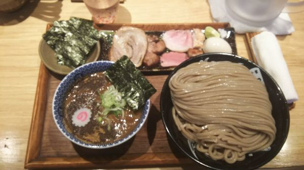 「つけ麺特盛 特選全部載せ のり5枚」@中華蕎麦 とみ田の写真