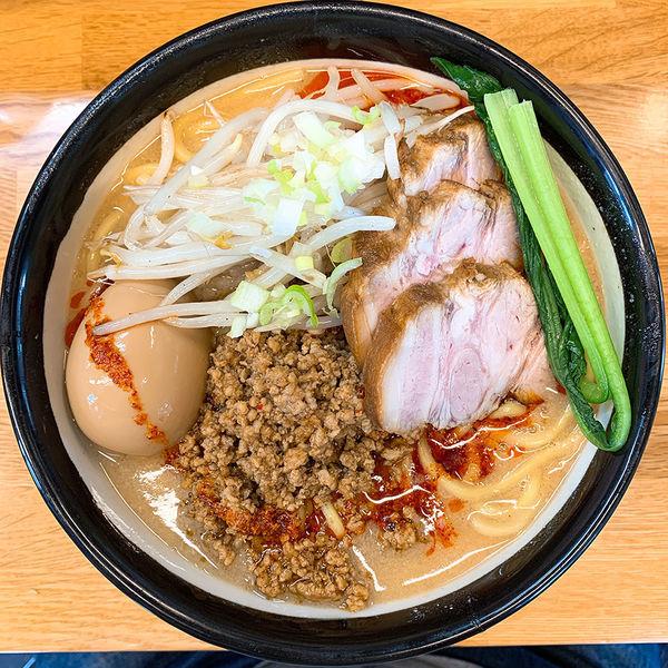 「ちゃーしゅー担々麺+味玉」@味噌っ子 ふっくの写真